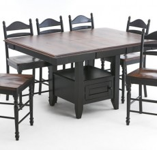 Hillary Gathering Island Dining Table