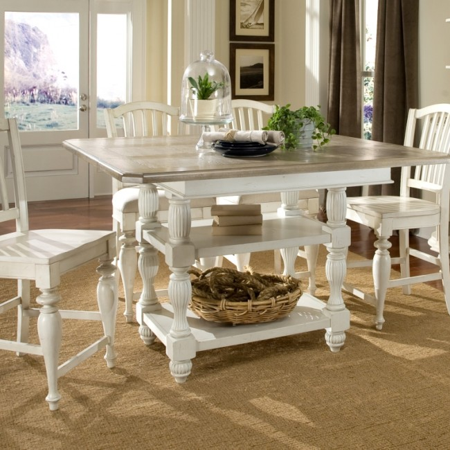 Olivia Bar Height Square Table