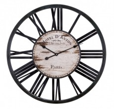 Wood Paris Clock