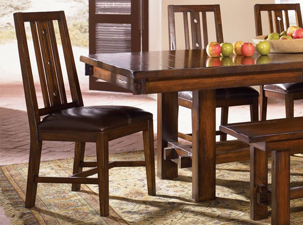 Michelle Solid Mahogony Table