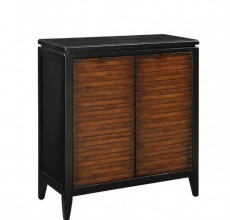 Small Wood Panel Cabinet