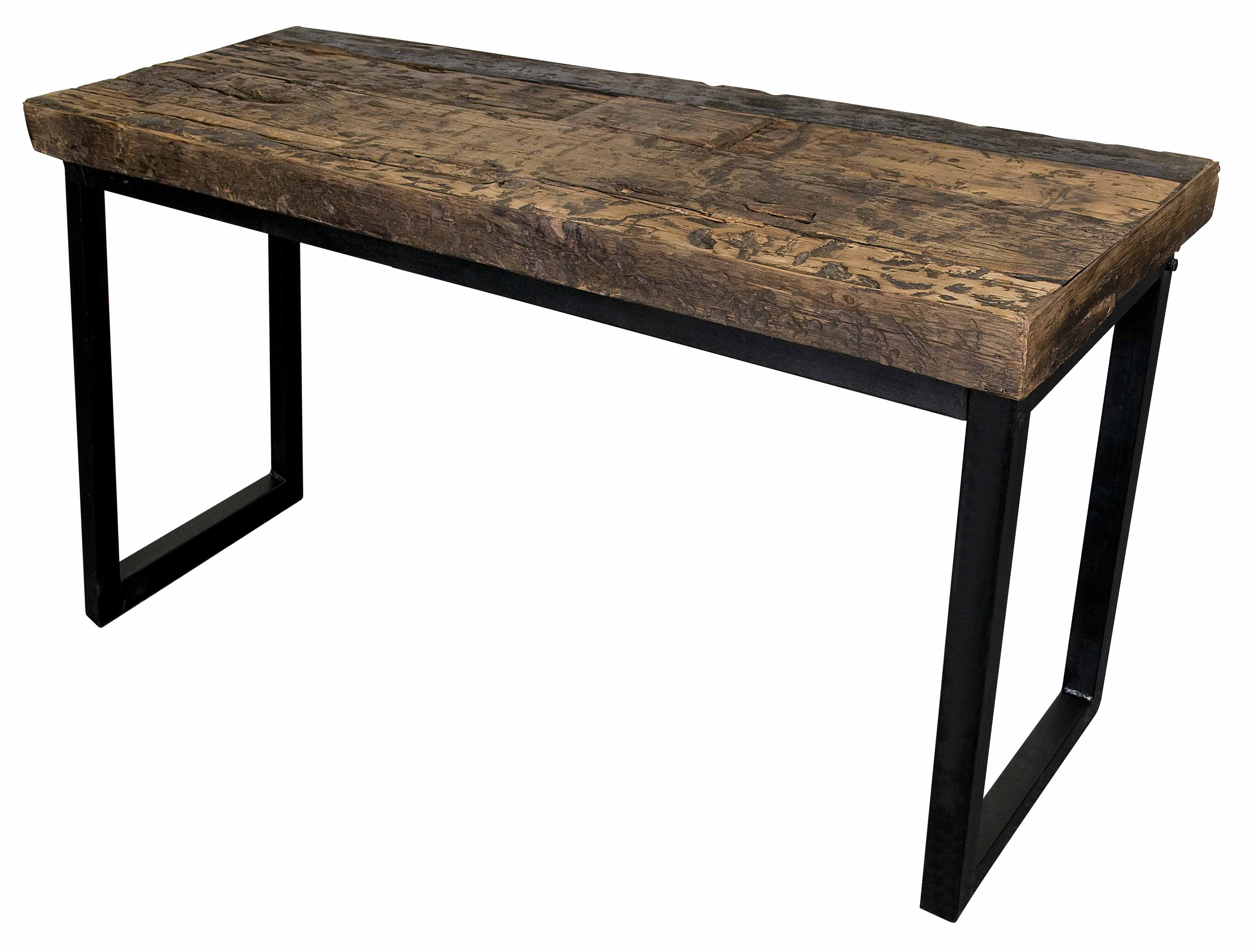 Reclaimed Railroad Wood Cocktail Table