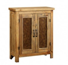 Wood Two Door Cabinet