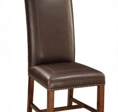 Top Grain Leather High Back Chair