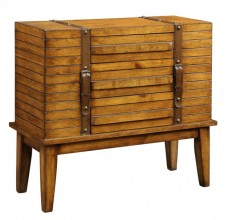 Belted Three Drawer Cabinet