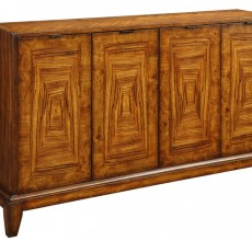 Internal Rectangle Four Door Credenza