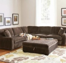 Luke Brown Champion Fabric Sectional
