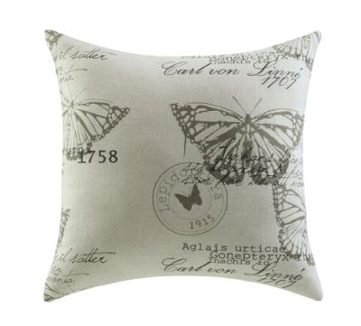 Butterfly Stamp Pillow