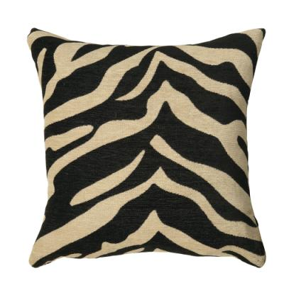 Cream Zebra Pillow