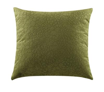 Green Bubble Accent Pillow