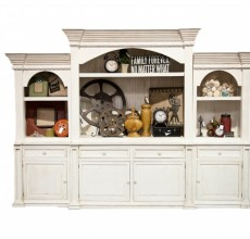 Lacey Large Rustic Entertainment Center