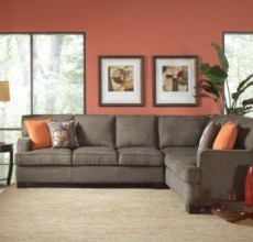 Alvah Olive Brown Sectional