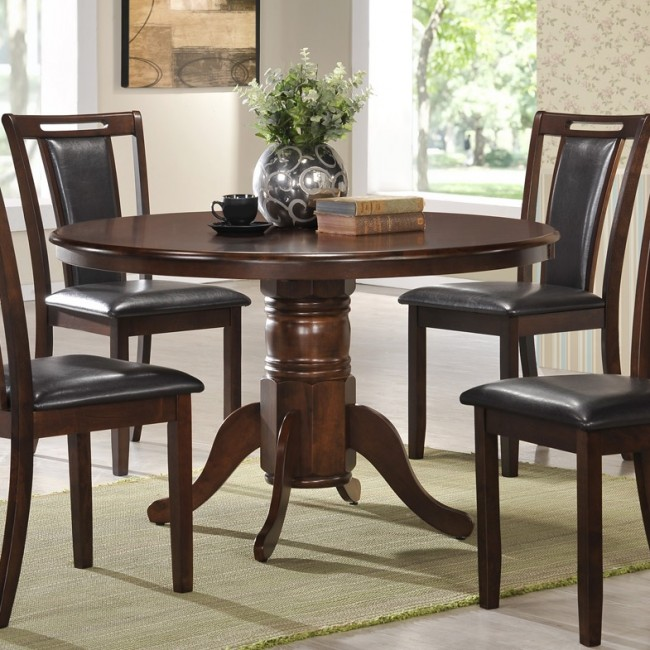48″ SOLID TOP ROUND TABLE