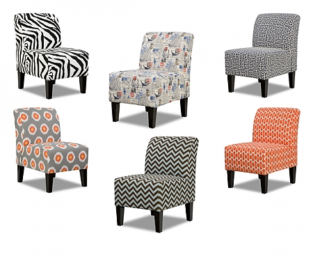 Shay Pattern Chair Collection