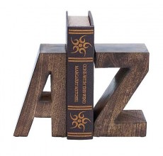 A-Z Individual Book End