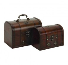 Large Brown Leather Case