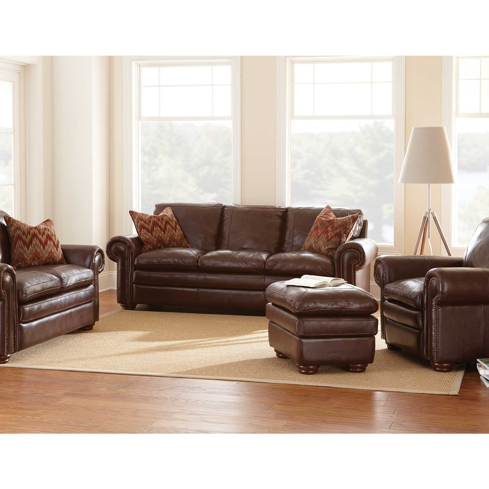 Carra Top Grain Leather Sofa