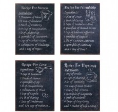 Recipe Plaque