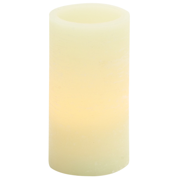 6″ LED Flame-less White Candle