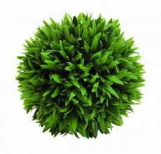 9″ Plastic Grass Ball