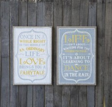 Urban Life Wooden PLAQUE