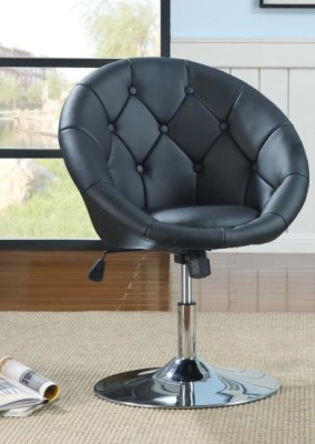 Tufted Swivel Chair