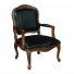 QUEEN ANNE STYLED ACCENT CHAIR