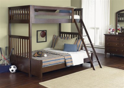 ABBY HILL TWIN/FULL BUNK BED