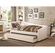 IVORY TWIN DAYBED