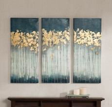 3 PIECE FOREST ART SET