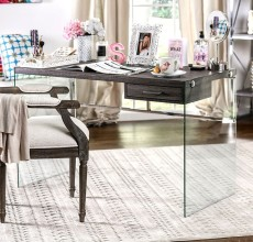 MILLIE GLASS DESK