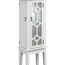 HINSON MIRRORED JEWELRY ARMOIRE