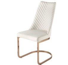 KYLA ROSE GOLD DINING CHAIR