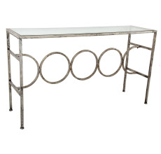GAVIN GLASS TOP CONSOLE