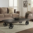 UNDERCOVER WOOD & WHEELS COFFEE TABLE