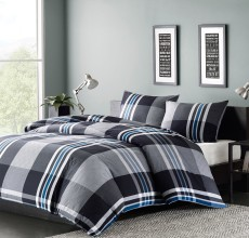 NATHAN PLAID DUVET MINI SET