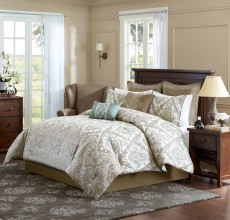 PIERCE 8 PC COMFORTER SET