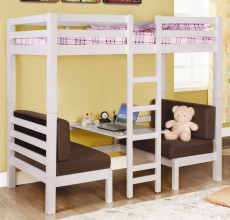 CONVERTIBLE TWIN/TWIN BUNKBED