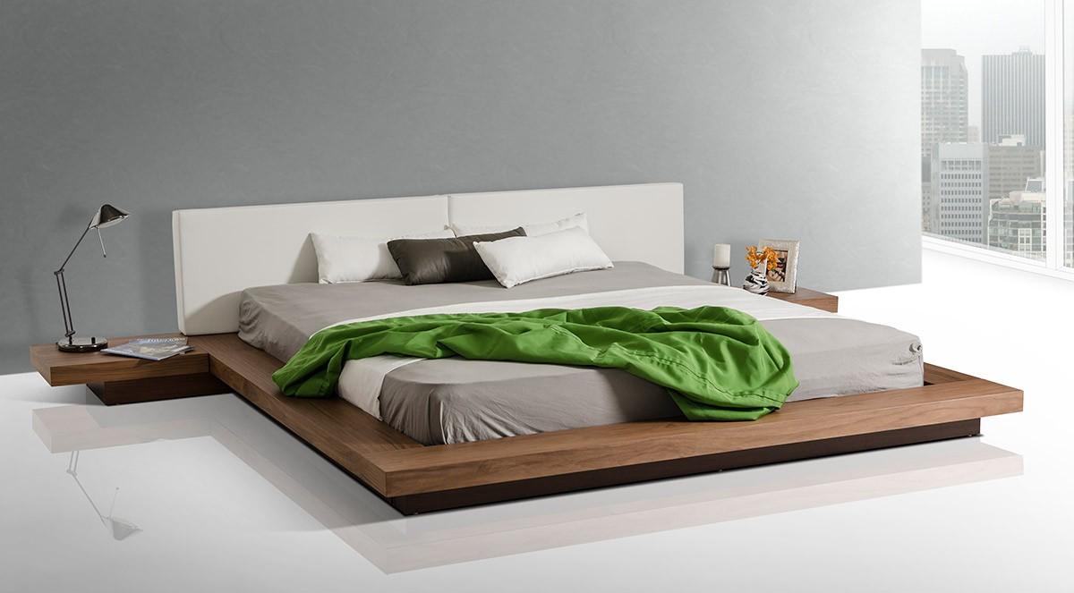 Oscar Low Profile Modern Bed