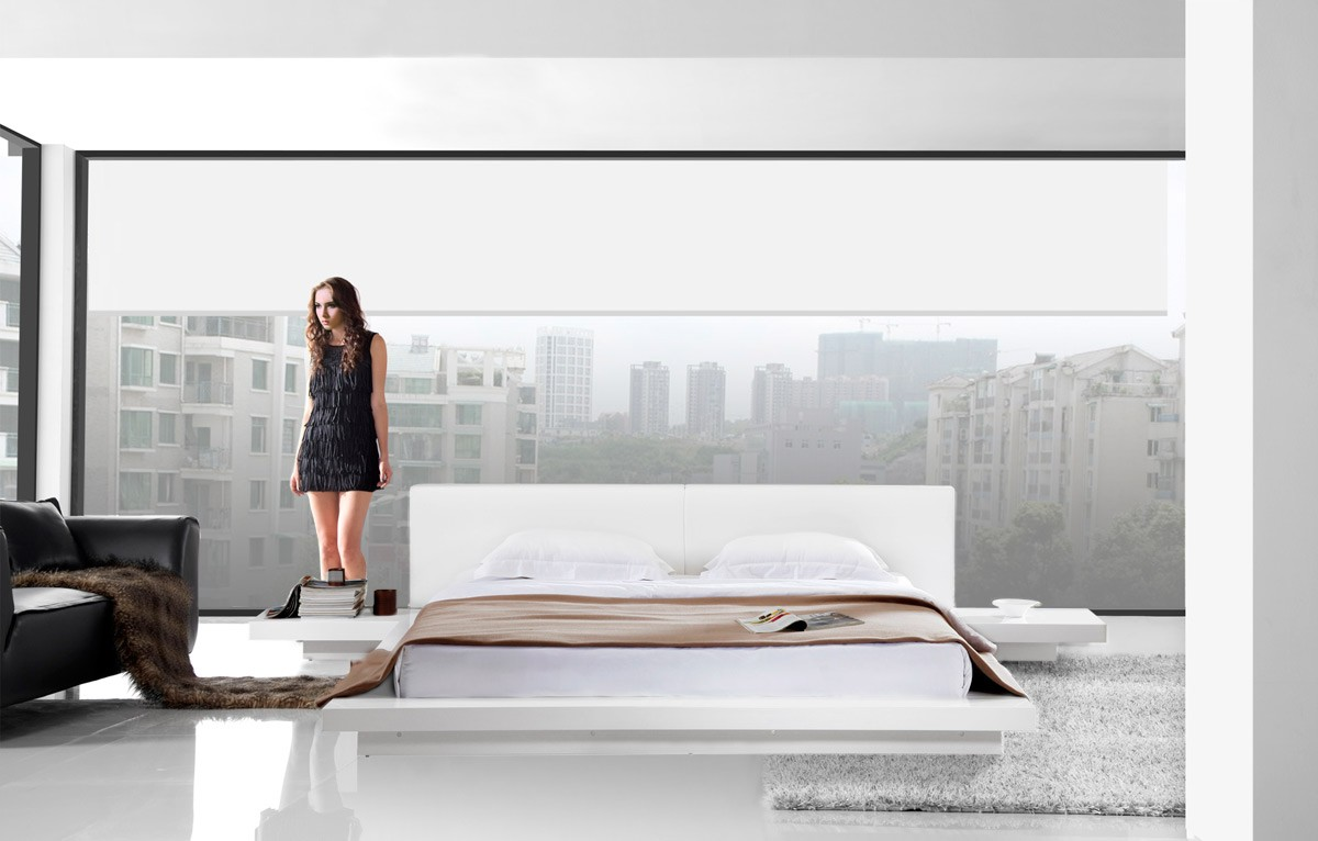 Oscar Low Profile Modern Bed